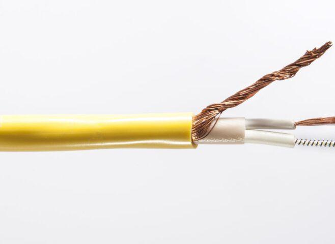 çift iletkenli seri dirençli ısıtma kablosu